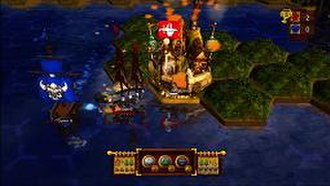 Age of Booty - Typical gameplay screenshot.