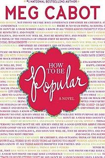 <i>How to Be Popular</i> novel by Meg Cabot