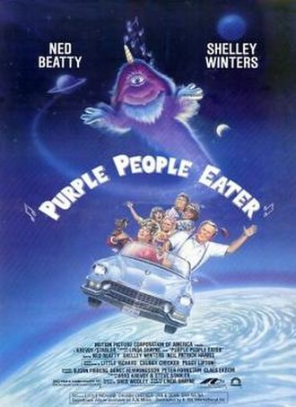 Purple People Eater (film) - Theatrical release poster