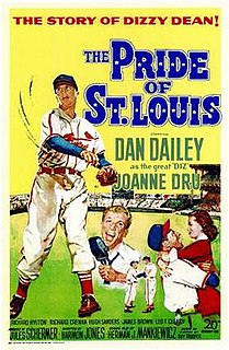 <i>The Pride of St. Louis</i> 1952 film by Harmon Jones