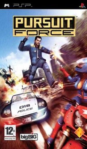 Pursuit Force - European cover art