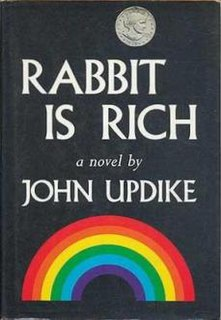 <i>Rabbit Is Rich</i> novel by John Updike