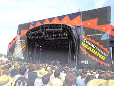 The Main Stage at the 2006 Reading Festival.