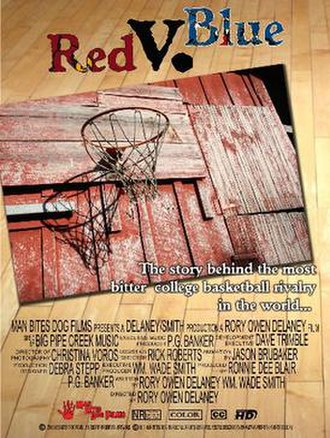 The Rivalry: Red v. Blue - Theatrical release poster