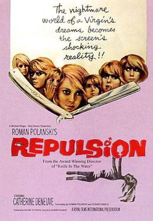 Repulsion (film) - Theatrical release poster
