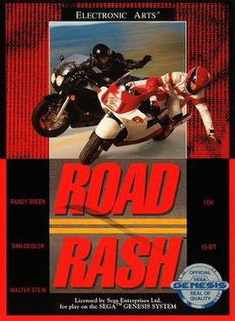Road Rash (video game) - Image: Road Rash Cover
