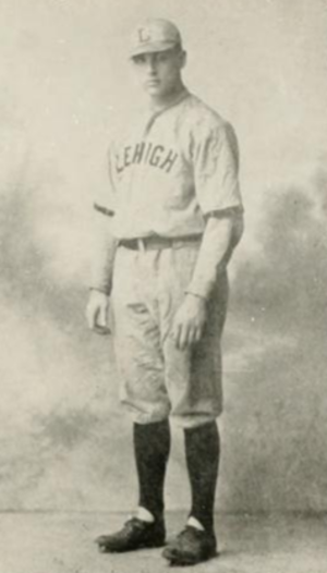 Bob Adams (1920s pitcher) - Adams pictured in Epitome 1934, Lehigh yearbook