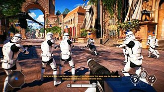 Star Wars Battlefront II (2017 video game) - Star Wars Battlefront II features gameplay from the Star Wars prequel films, a feature absent in the game's predecessor.