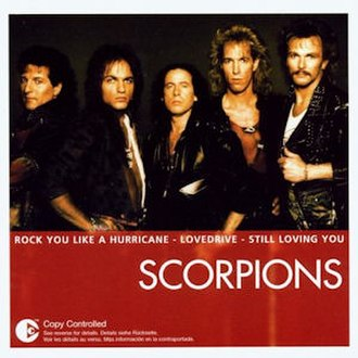 Best of Rockers 'n' Ballads - Image: Scorpions Essential