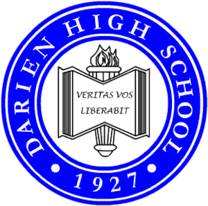 Darien High School - Image: Seal Darien High School Darien CT