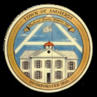 Amherst, Virginia - Image: Seal of Amherst, Virginia