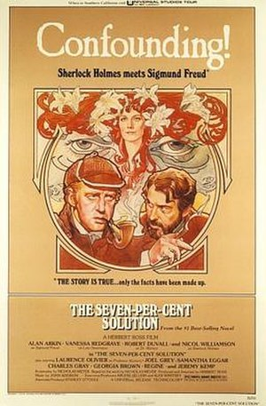 The Seven-Per-Cent Solution (film) - Film poster by Drew Struzan