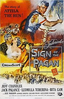 <i>Sign of the Pagan</i> 1954 film by Douglas Sirk