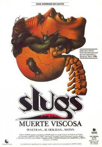 Slugs (1988 film) - Image: Slugs film poster