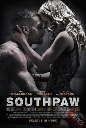 Southpaw (film) - Theatrical release poster