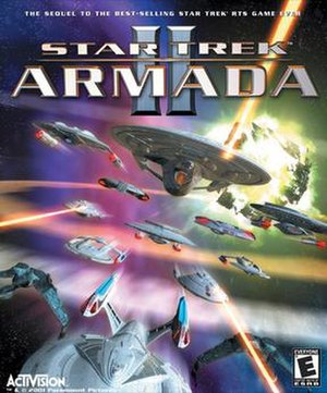 Star Trek: Armada II - North American boxart