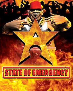 State of Emergency (video game) - Image: State of emergency cover
