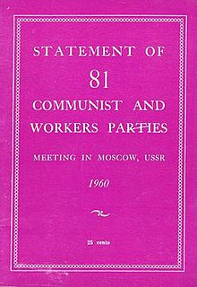 1960 International Meeting of Communist and Workers Parties