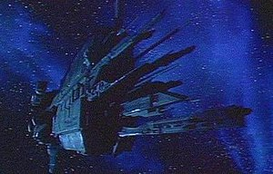 Sulaco (fictional spacecraft) - The Sulaco heading for LV-426