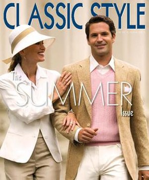 Classic Style Magazine - Cover of Issue 5