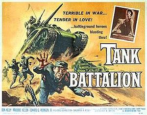 Tank Battalion (film) - Film poster by Albert Kallis