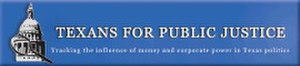 Texans for Public Justice - Image: Texans for Public Justice Logo