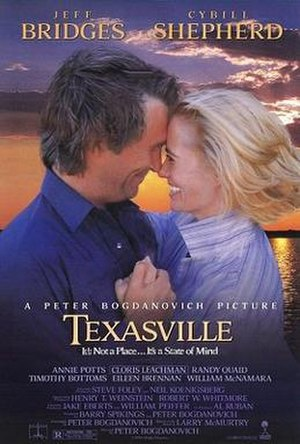 Texasville - Theatrical release poster by John Alvin.