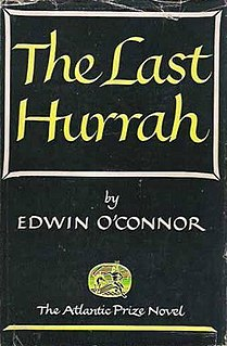 <i>The Last Hurrah</i> book by Edwin OConnor