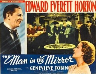 <i>The Man in the Mirror</i> (1936 film) 1936 film by Maurice Elvey