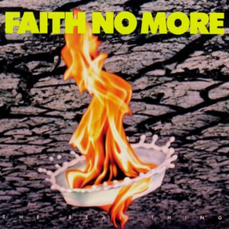 The Real Thing (Faith No More album) - Image: The Real Thing album cover