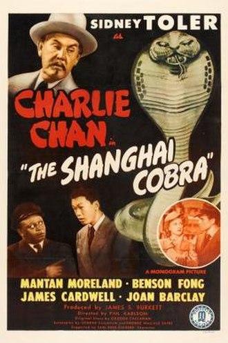 The Shanghai Cobra - Image: The Shanghai Cobra Film Poster