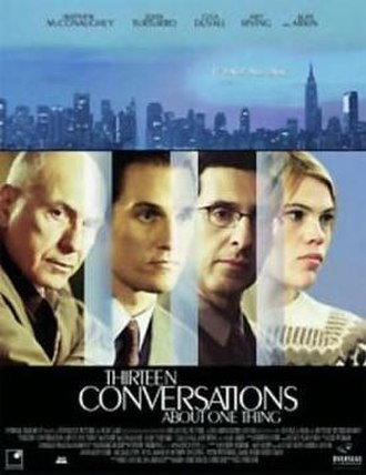 Thirteen Conversations About One Thing - Promotional poster