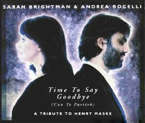 Con te partirò - Image: Time To Say Goodbye