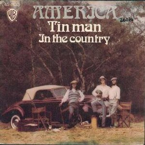 Tin Man (song) - Image: Tin man america