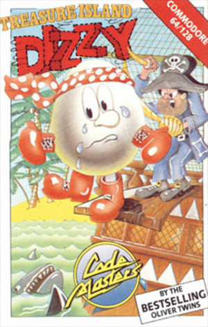 Treasure Island Dizzy - Image: Treasure Island Dizzy Coverart