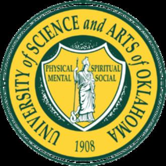 University of Science and Arts of Oklahoma - Image: USA Oklahoma seal