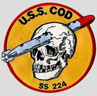 USS Cod - Image: USS Cod SS 224