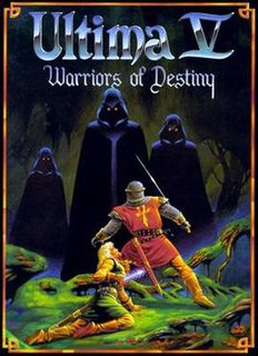 <i>Ultima V: Warriors of Destiny</i> 1988 video game
