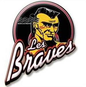 Valleyfield Braves (2014–) - Image: Valleyfield Braves