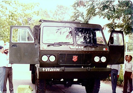 Matang was completely developed and manufactured by Vehicle Factory Jabalpur Vehicle Factory Jabalpur (VFJ)'s Matang Truck for the Indian Army.jpg