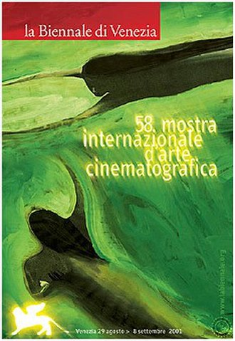 58th Venice International Film Festival - Festival poster