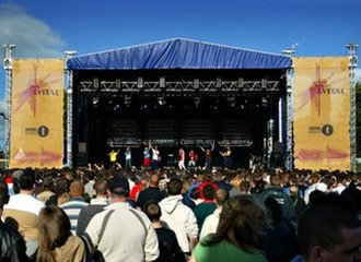 Belfast Vital - The Main Stage in 2004