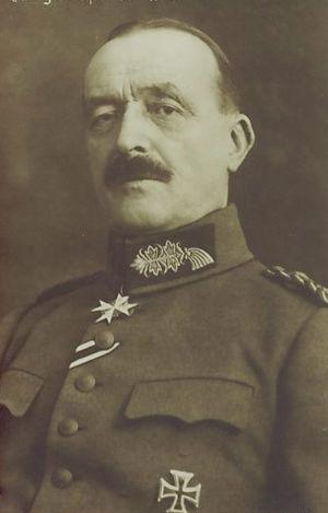 Hermann von Stein (1854–1927) - Hermann von Stein during WWI