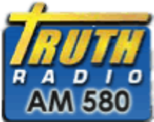 WLES - Logo for the station when it operated on 580 AM.