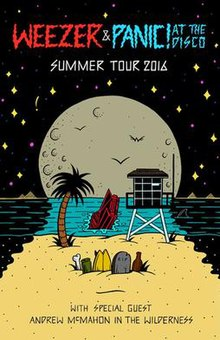 Summer Tour 2016 (Weezer and Panic! at the Disco) - Wikipedia