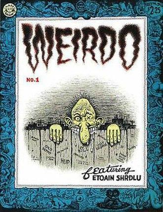 Weirdo (comics) - Image: Weirdo 01