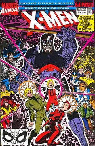 Days of Future Present - Image: X Men Annual 14