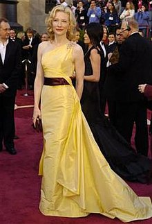 Yellow Valentino dress of Cate Blanchett - Wikipedia Cate Blanchett Wikipedia