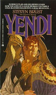 <i>Yendi</i> (novel) 1984 novel in the Vlad Taltos series by Steven Brust