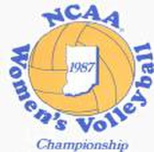 1987 NCAA Division I Women's Volleyball Tournament - 1987 NCAA Final Four logo